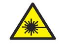 Pictograma de advertencia de radiaciones láser