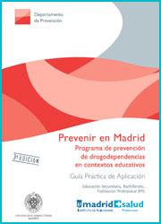 Publicación Prevenir en Madrid. Guía práctica de aplicación