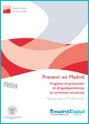 Publicación Prevenir en Madrid. Manual para el profesorado