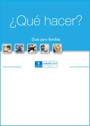 Guía para familias. ¿Qué hacer?