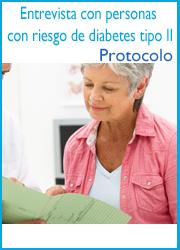 Protocolo para entrevista con personas con riesgo de diabetes tipo 2