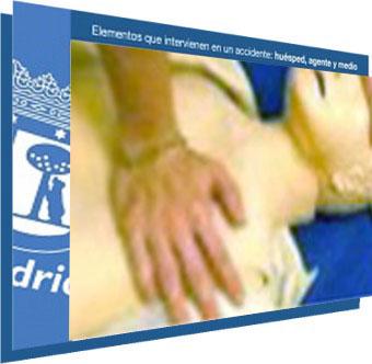 Elementos que intervienen en un accidente: huésped, agente y medio